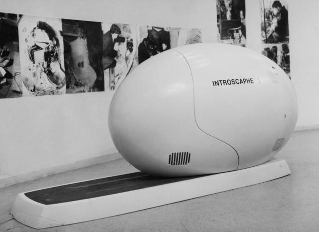 L'Introscaphe dans le Musée - 1970