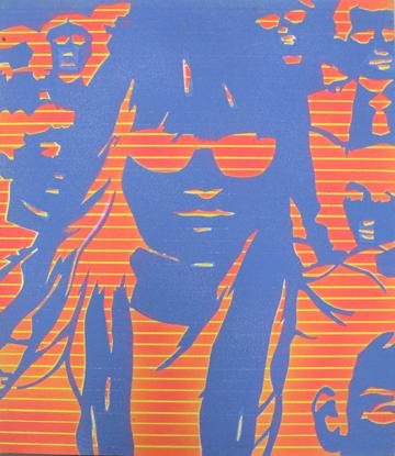 Femme dans la foule, 1972