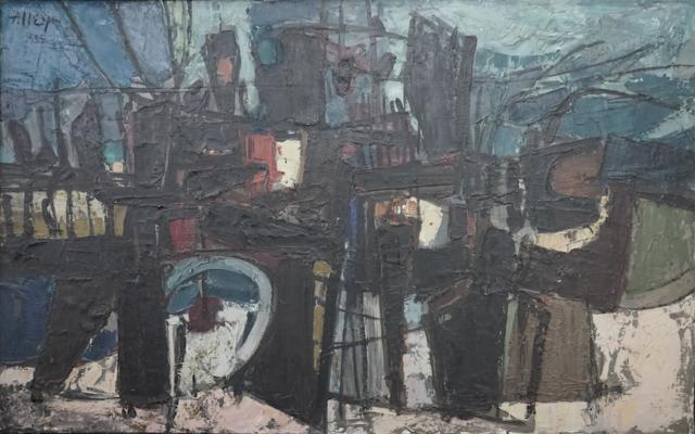 La racine noire, 1955