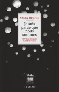 Je suis parce que nous sommes - NANCY HUSTON